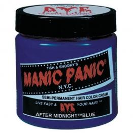 Полуперманентная краска для шерсти животных Manic Panic Midnight, 118мл