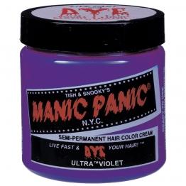 Полуперманентная краска для шерсти животных Manic Panic Ultra Violet, 118мл
