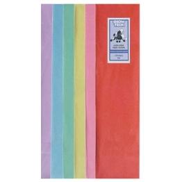 Рисовая бумага для папильоток, цветная (10х40см), Show Tech Rice Paper 100шт