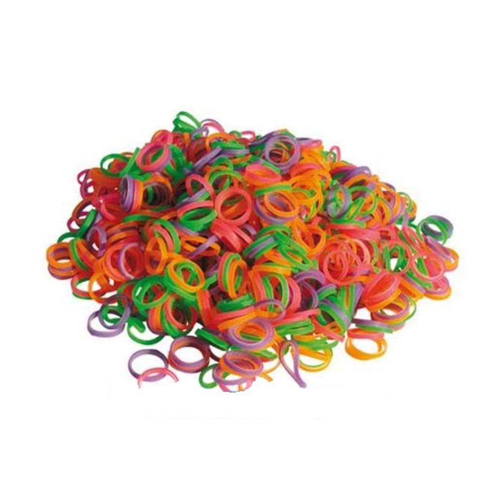 Резиночки латексные для топ-нотов, разноцветные, Show Tech 1000шт