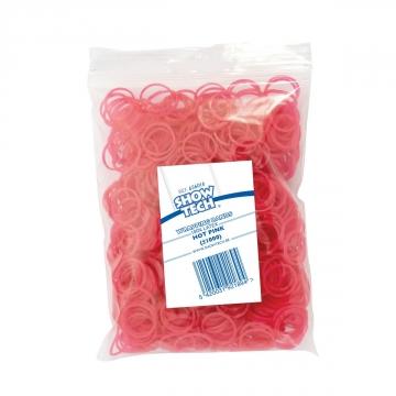 Резиночки для папильоток розовые 16мм, Show Tech 1000шт