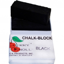 Мел для окрашивания шерсти животных (2 бруска по 75х25х25мм), С.K. Chalk Block Black (черный)