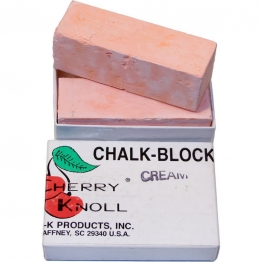 Мел для окрашивания шерсти животных (2 бруска по 75х25х25мм), С.K. Chalk Block Cream (кремовый)