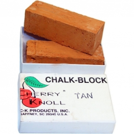 Мел для окрашивания шерсти животных (2 бруска по 75х25х25мм), С.K. Chalk Block Tan (бронза)