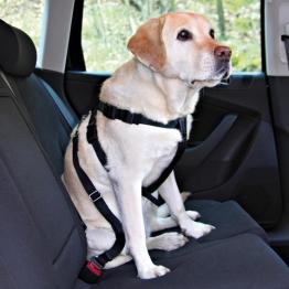 Автомобильный ремень безопасности со шлейкой для собак Trixie