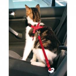 Автомобильный ремень безопасности со шлейкой для кошки, Trixie 1294