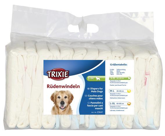 Подгузники для кобелей, одноразовые, Trixie 23641-3