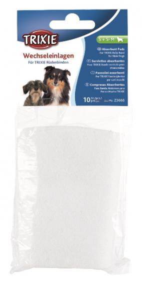 Вкладка в пояс для кобелей, одноразовая, Trixie 23666  (10шт)