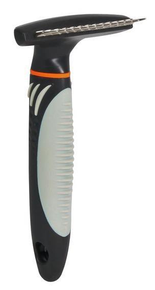Расческа-грабли с крутящимся длинным зубом, Trixie 23791