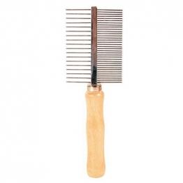 Расческа с деревянной ручкой, Trixie 2396