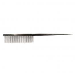 Расческа  металлическая со спицей 18.5см, Yento 26YEN006