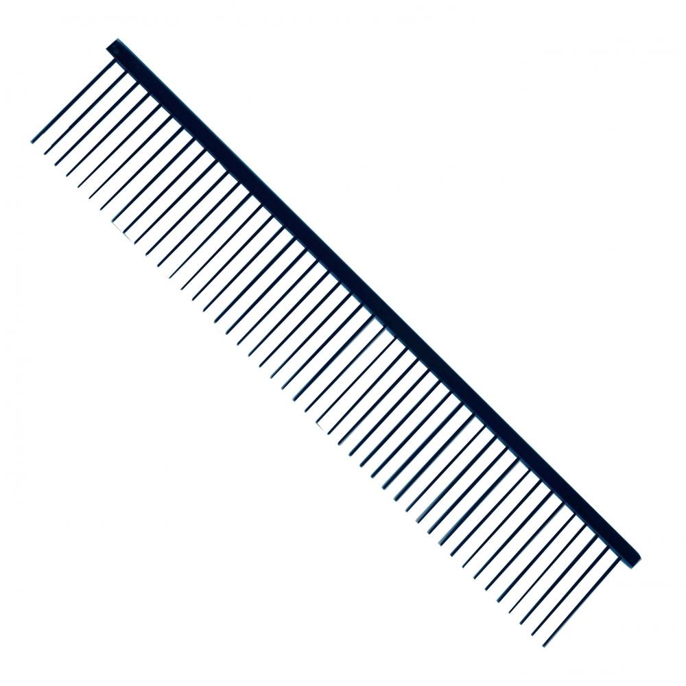 Расческа редкозубая, длинная 28 см (зуб 4.5см) Yento Black Comb 26YEN009